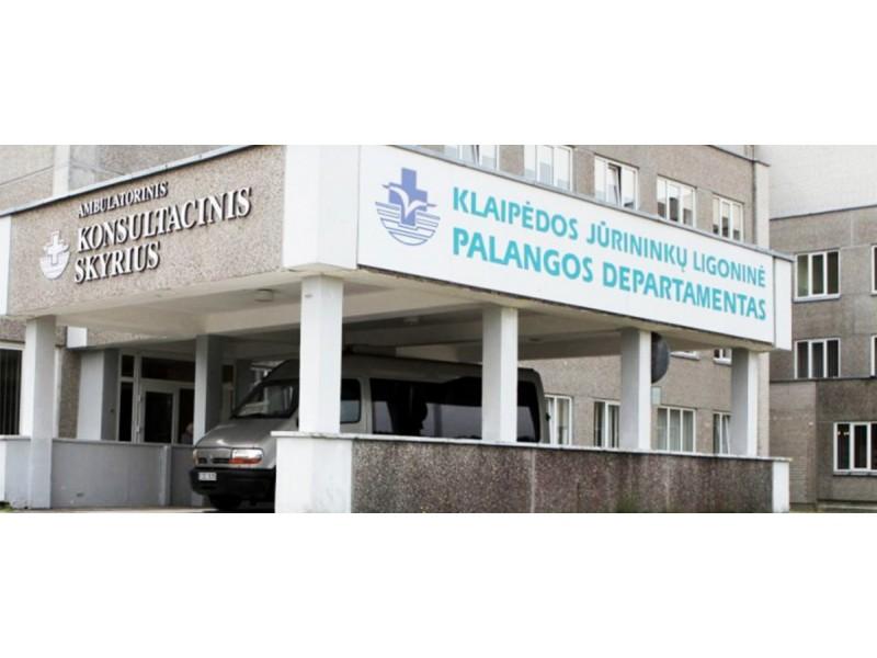 Klaipėdos jūrininkų ligoninės Palangos departamentas atnaujina atnaujina ambulatorines ir stacionarines paslaugas