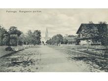 Kurhauzo parkas. Iš S. Žulkaus kolekcijos.
