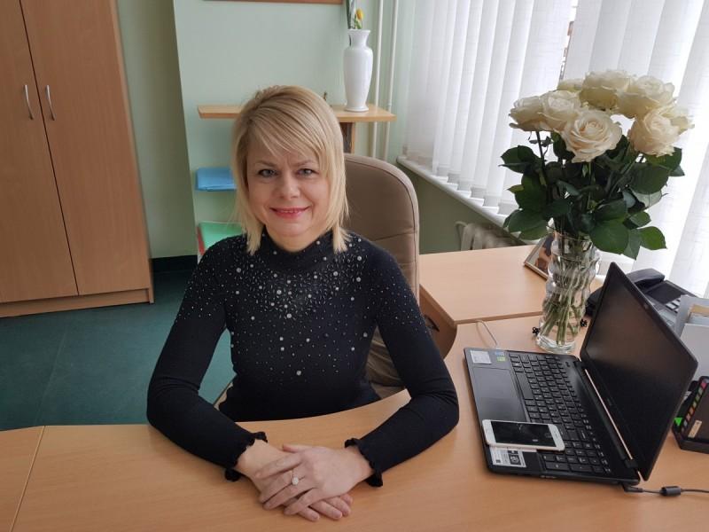 Poliklinikos direktorė Jūratė Mikutienė