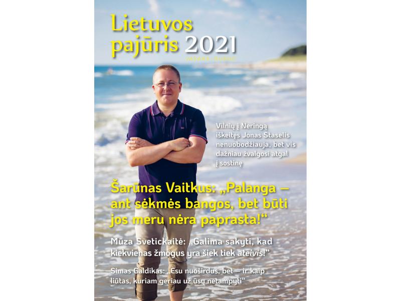"""Nors naujasis žurnalo """"Lietuvos pajūris"""" numeris rekordiškai storas, miela Palangos močiutė jo teirausis taip, kaip iki šiol: """"Gal turite naują savo žurnaliuką?"""""""