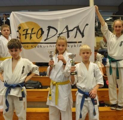 Pergalės Olandijos karatė čempionate