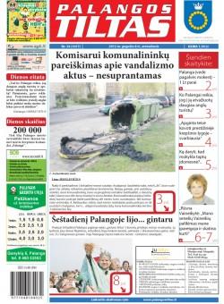 Palangos tilto laikraštis, Data: 2012-05-07, Numeris: 34 (1077)