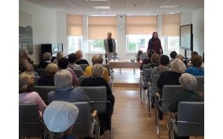 Bibliotekoje vyko susitikimas su Rūta Oginskaite