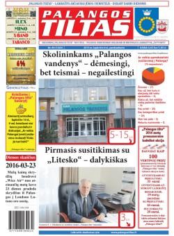 Palangos tilto laikraštis, Data: 2015-11-05, Numeris: 84(1420)