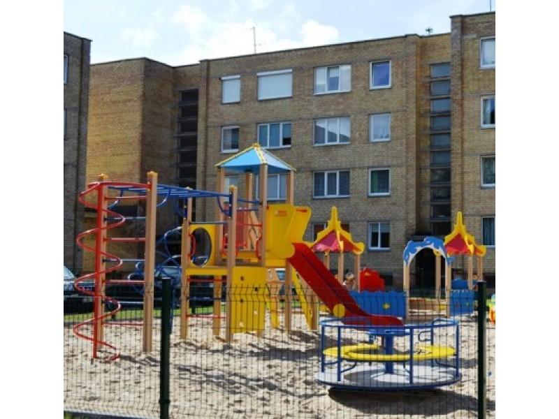 Mažiesiems palangiškiams – modernios ir saugios vaikų žaidimų aikštelės