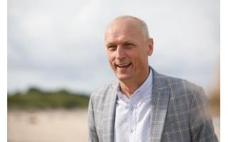 """UAB """"Palangos komunalinis ūkis"""" direktorius Gediminas Valinevičius: """"Sunku rasti norinčių tvarkyti paplūdimio tualetus ir už 1000 eurų algą"""""""