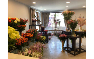"""Palangoje atsidarė naujas gėlių salonas """"Happy Flowers"""""""