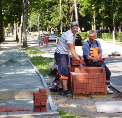 Rekonstruojamos Palangos gatvės kurorto veidą pagražins jau netrukus