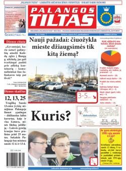 Palangos tilto laikraštis, Data: 2016-01-07, Numeris: 2(1436)