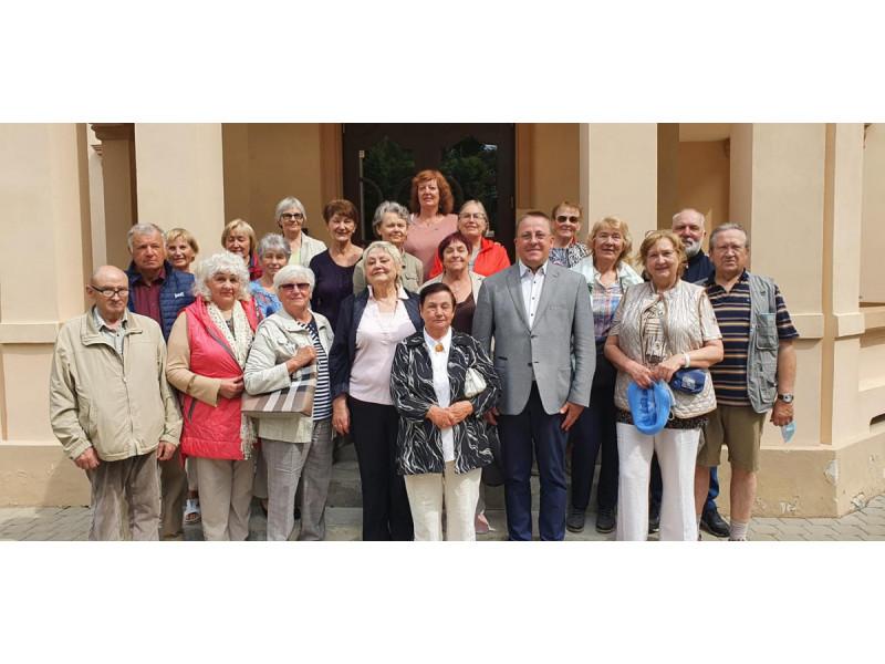 Meras Šarūnas Vaitkus susitiko su Palangos trečiojo amžiaus universiteto senjorais ir aprodė jiems medinę Kurhauzo dalį (FOTO GALERIJA)