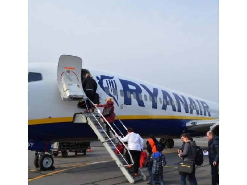 """Miesto vadovai su """"Ryanair"""" atstovais aptarė platesnio bendradarbiavimo galimybes"""