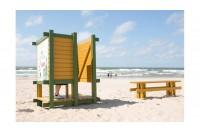 Palangos paplūdimiai šiemet atrodys kitaip - viskas dėl persirengimo kabinų