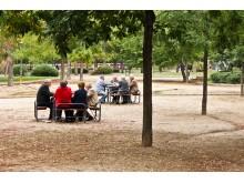 Aktyvūs ir bendraujantys - štai kokie ispaniški senukai