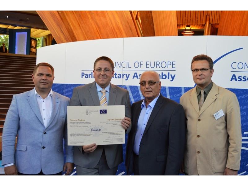 Iš kairės: M. Skritulskas, Š. Vaitkus, R. A. Kirstukas, R. Trautmanas