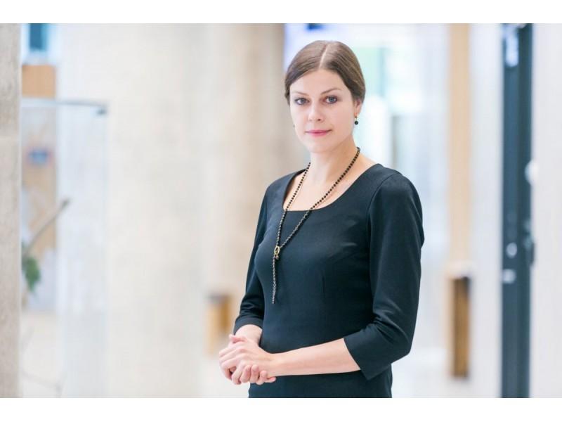 """T. Bauro nuotraukoje: Indrė Genytė-Pikčienė, """"INVL Asset Management"""" vyriausioji ekonomistė"""