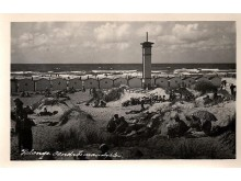 """Palanga. Bendros maudyklės. 1930 m. M. Barkausko nuotrauka. Iš """"Lietuva senose fotografijose""""."""