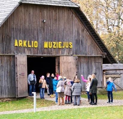 Šventosios pagrindinės mokyklos pirmūnų išvyka į Anykščius