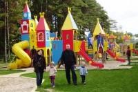 Vaikų parkas vėl laukia mažųjų lankytojų