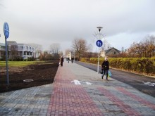 Praėjusių metų pabaigoje iš pagrindų sutvarkytas Virbališkės takas: pakeista gatvės danga, pažymėtas dviračių takas, paklotos naujos komunikacijos, įrengti suolai, pasodinti nauji medžiai.