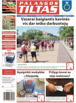 Palangos tilto laikraštis, Data: 2011-08-22, Numeris: 64 (1008)