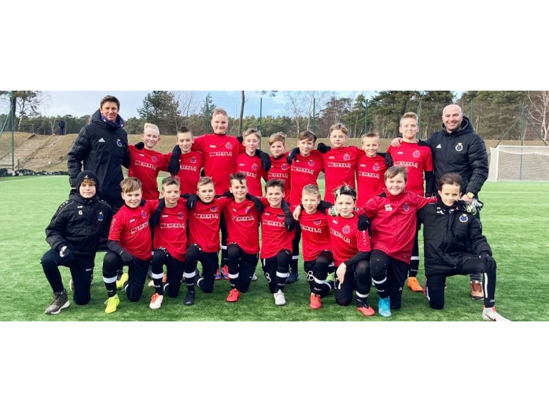 """Palangos FK """"Gintaras"""" U-13 komanda Lietuvos čempionate 5:0 sutriuškino bendraamžius iš Plungės"""
