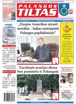 Palangos tilto laikraštis, Data: 2016-02-22, Numeris: 14(1448)