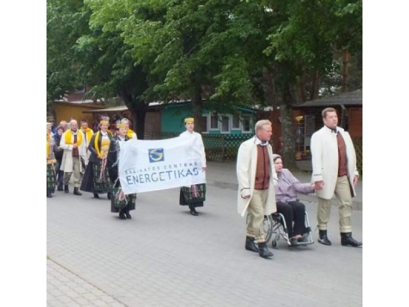 """Šventojoje šurmuliavo festivalis neįgaliesiems """"Nepalikim su negalia vienų"""""""