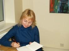 Rašytoja Elena Karnauskaitė.