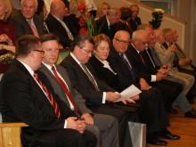Pasveikinti Klaipėdos Jūrininkų ligoninės Palangos departamento su 20 metų jubiliejumi atvyko visas būrys garbių svečių.
