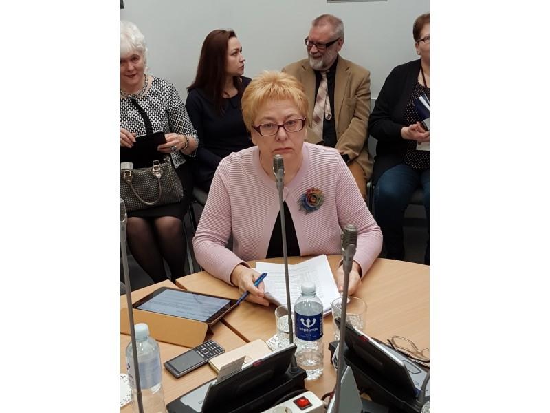 Dėl Seimo nario padėjėjos Elenos Kuznecovos veiklos vertinimo