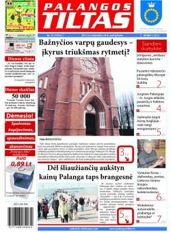 Palangos tilto laikraštis, Data: 2012-04-23, Numeris: 31 (1074)