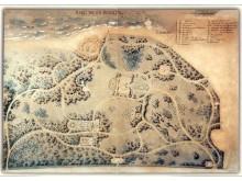 """Palangos parko projektas. Autorius – kraštovaizdžio architektas Eduardas Andrė, 1899 m. Iliustracija iš žurnalo """"Kelionės ir pramogos"""", 1999 m."""