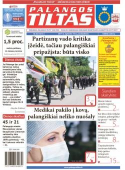Palangos tilto laikraštis, Data: 2017-11-09, Numeris: 82(1613)