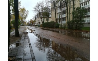 Kastyčio gatvė kelia problemų dėl padarytos klaidos