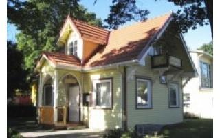 Nedidelių kurortinių statinių architektūros pavyzdys – pastatas J. Basanavičiaus g. 21