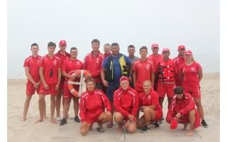 Palangos paplūdimio gelbėtojų vadas Jonas Pirožnikas – atviras: šį sezoną atleido 8 gelbėtojus, o konkursas buvo rekordiškai didelis – 12 norinčiųjų į vieną vietą