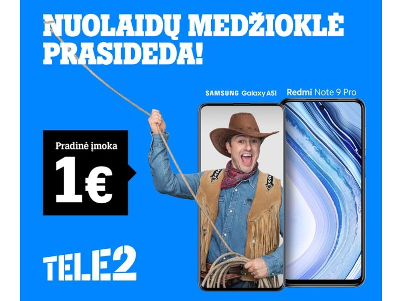 """Laikas namuose su """"Tele2"""": išskirtiniai pasiūlymai namų internetui, telefonams ir televizoriams"""