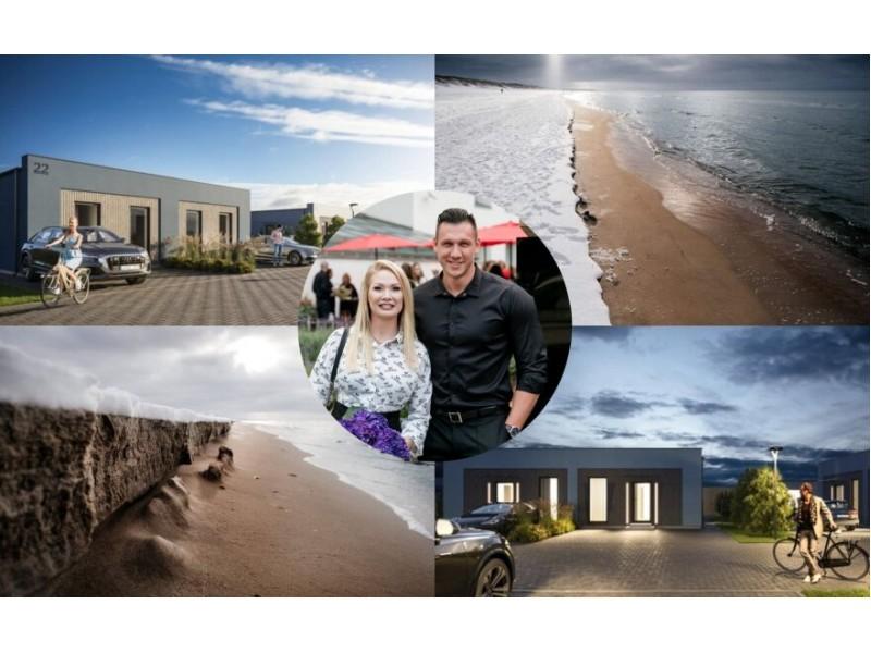 Natalija Bunkė įsigijo namus pajūryje/ Foto: Ozolas photography ir Delf