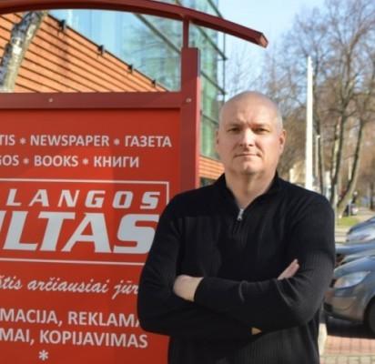 """Klubo """"Palanga"""" direktorius bei klubo savininkas Arūnas Vaitulionis."""