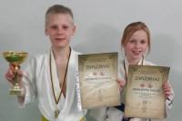 Gustas Petrošius ir Paulė Visockytė – Lietuvos kata čempionato prizininkai