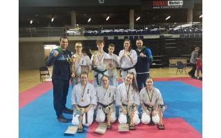 """Palangiškiai """"shodaniečiai"""" iš čempionato grįžo su 5 aukso ir 1 sidabro medaliu"""