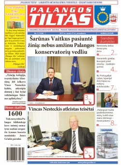 Palangos tilto laikraštis, Data: 2017-01-30, Numeris: 7(1538)