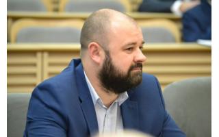 """Danas Paluckas: """"Į Palangos savivaldos istoriją be abejonės įeis ir dviejų opozicinių frakcijų šioje Taryboje susikūrimas"""""""