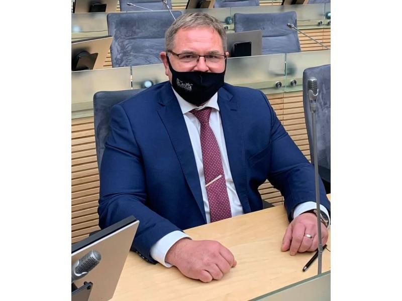 Seimo narys Mindaugas Skritulskas