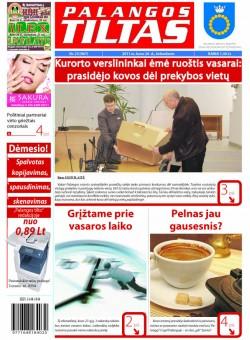 Palangos tilto laikraštis, Data: 2011-03-25, Numeris: 23 (967)