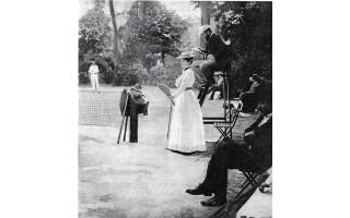 """Lauko tenisas Palangoje XX amžiaus pirmoje pusėje (VISĄ STRAIPSNĮ SKAITYKITE KITAME """"PALANGOS TILTO"""" NUMERYJE)"""