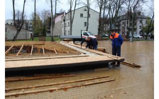 Palanga išjungia fontanus: šiemet jų eksploatacijai prireiks daugiau pinigų