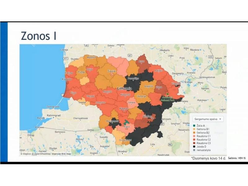 Iki kovo 31 dienos Vyriausybei pratęsus judėjimo ribojimus 16-oje savivaldybių, pajūryje atsiveria tik Palanga ir Šventoji, Neringa virkauja