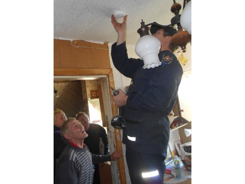 Palangos ugniagesiai kartu su savivaldybės administracija rūpinasi gyventojų saugumu