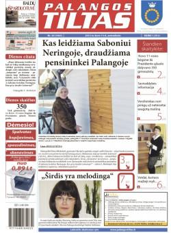 Palangos tilto laikraštis, Data: 2012-03-12, Numeris: 20 (1063)